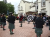 Gardens Open Day Pipe Band