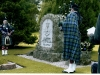 Pipers at Lady MacRobert's Grave