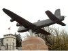 Stirling Bomber Statue