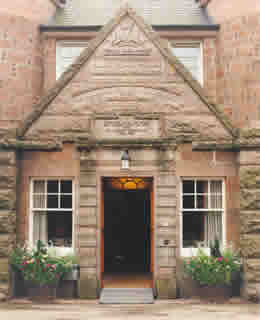 Alastrean House Entrance